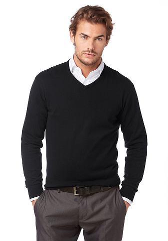 CLASS INTERNATIONAL Пуловер с V-образным вырезом