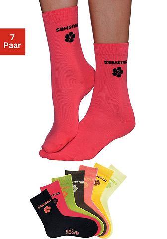 Bodywear носки (7 пар) в leuchtenden ц...