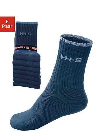 Спортивные носки (6 пар) с махровая &a...
