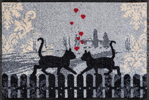 Коврик для двери »Cats в Love&la...