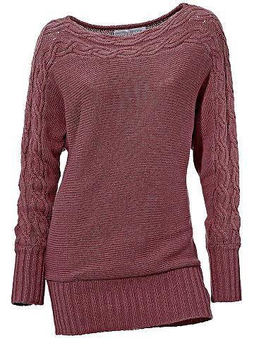 Пуловер с стежка
