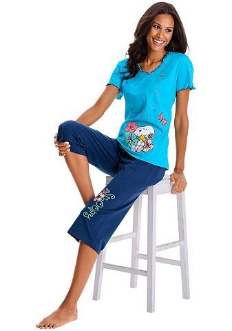 Locker sitzender пижама-капри Peanuts ...