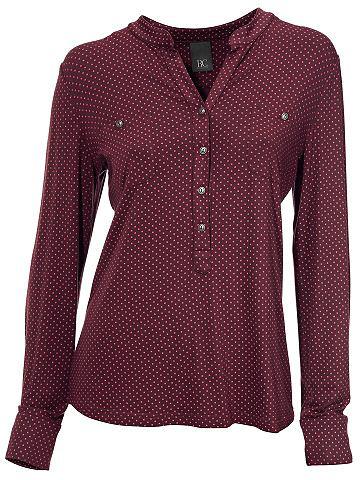 Блузка-рубашка Punkte-Dessin