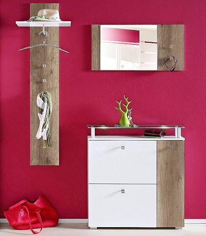 Гардеробная мебель-комплект (3 шт.), otto, гардероб и зал, ц.