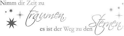 Настенные стикеры »Nimm dir Zeit...