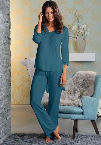 Изящный пижама с драпировка & Spit...