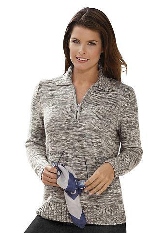 Пуловер из flauschig мягкий Melange-Ga...