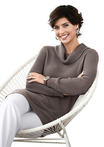 Пуловер с halsfernem воротник-гольф