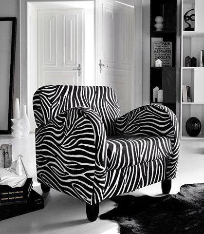 Кресло в Zebra стиль