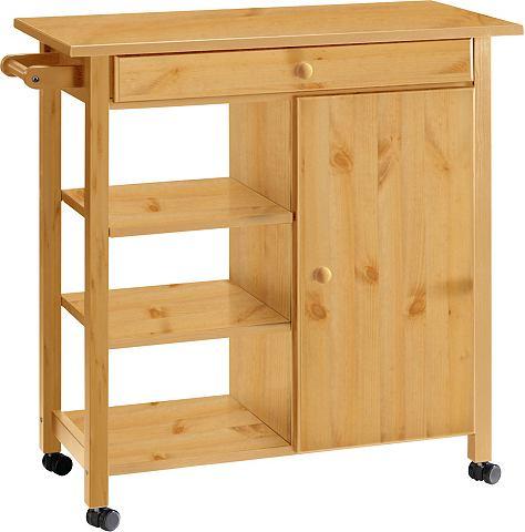 HOME AFFAIRE Стол кухонный на колесиках »Edmo...