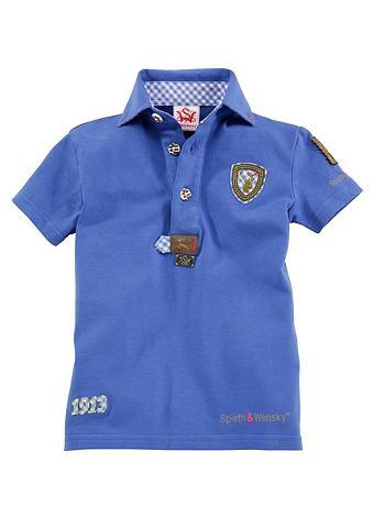 SPIETH & WENSKY Детские футболка с окантовка Spieth &a...