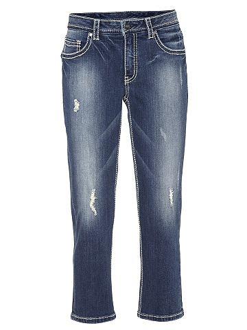 heine CASUAL Капри-джинсы с Kontrast-Stitching