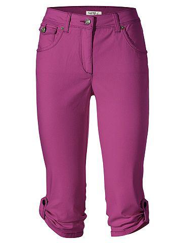 Капри-джинсы zum с отворотом