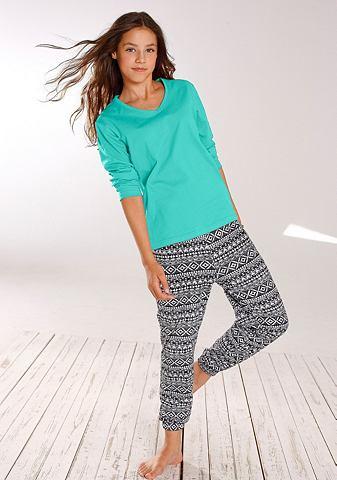 Пижама с cool с узором брюки