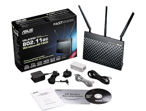 DSL-AC68U AC1900 ADSL/ VDSL WLAN модем...