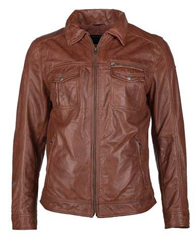 Куртка кожаная Herren Truffle
