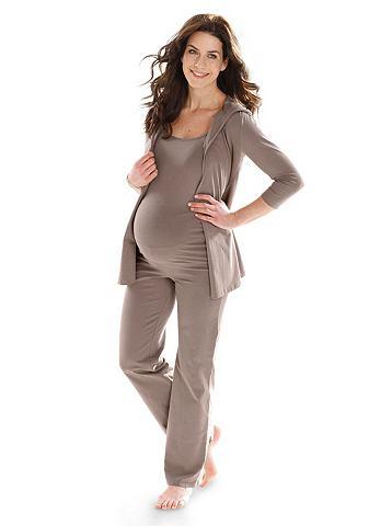Топ брюки для беременных & жакет (...