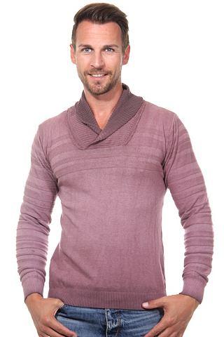 Пуловер воротник узкий форма
