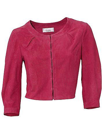 Куртка кожаная Ziegen-Veloursleder