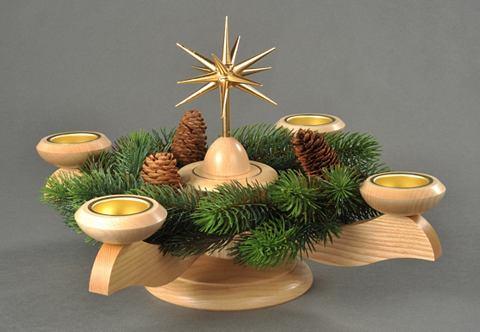 Adventsleuchter natur »Weihnacht...