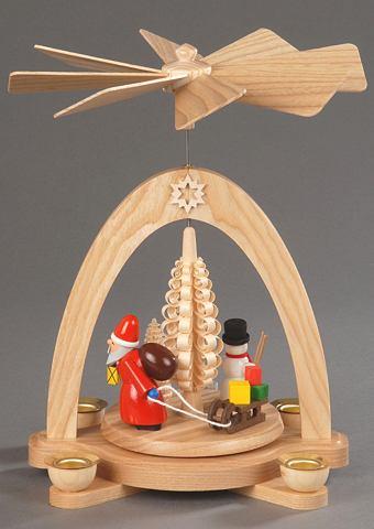 Weihnachts-Pyramide natur Albin Prei&s...