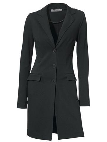 Пиджак длинный в taillierter форма