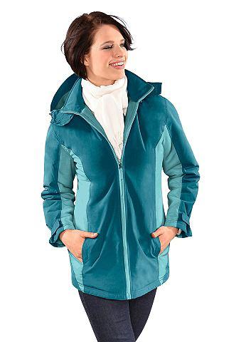 Куртка из занавес от ветра и водостойк...