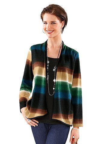 Пуловер с kaschierendem Zipfelsaum