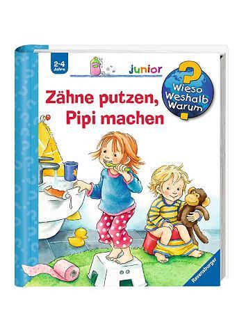 Детская книга »Zähne putzen...