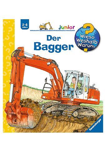 Kinderbuch »Der Bagger / Wieso? ...