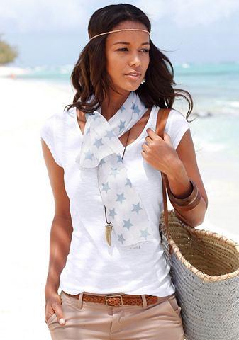 Комплект: футболка и шарф