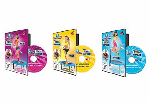 3шт. комплект Trampolin-Trainings-DVDs...