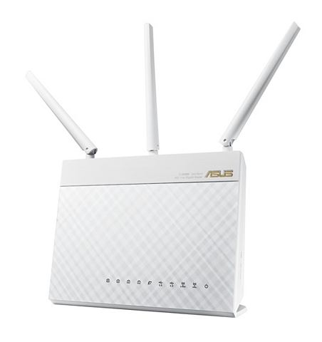 RT-AC68U White AC1900 Gigabit WLAN мар...