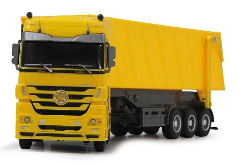 RC Truck »Mercedes Actros gelb&l...