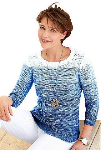 Пуловер с harmonischen Farbverlauf