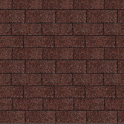 Rechteck-Dachschindeln красный