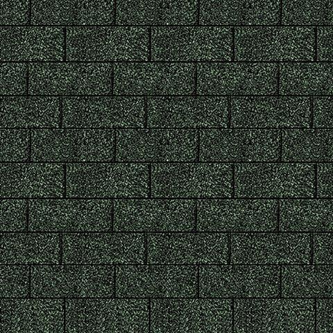 Rechteck-Dachschindeln grün