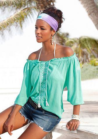Туника-блузка с окантовка