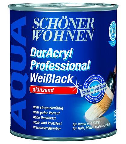 Красивый Wohnen Farbe Weißlack &...