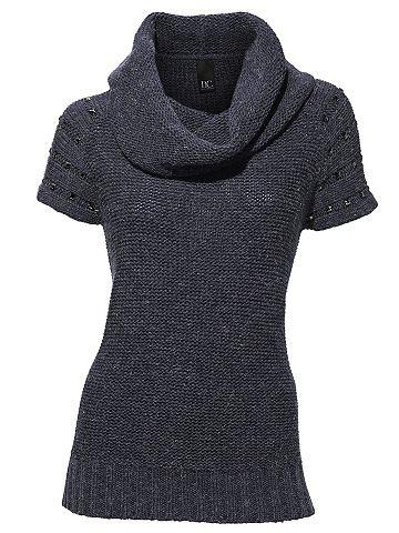 Пуловер с Schmuckelementen