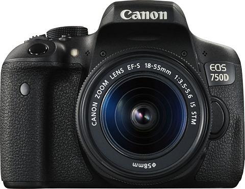EOS 750D Kit фотоаппарат зеркальный ka...