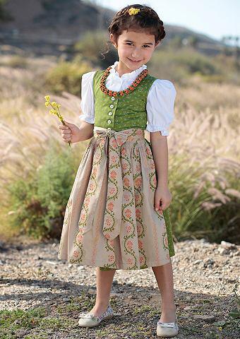 Детский в национальном стиле c цветочн...