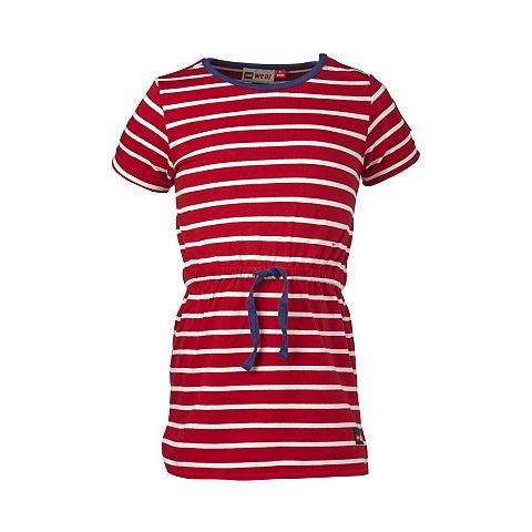 Duplo трикотаж платье с коротким рукав...