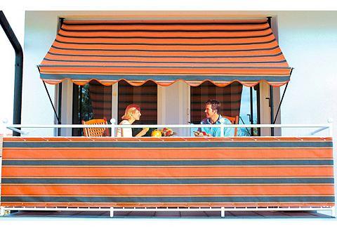 Занавес балкона braun/orange (in два H...