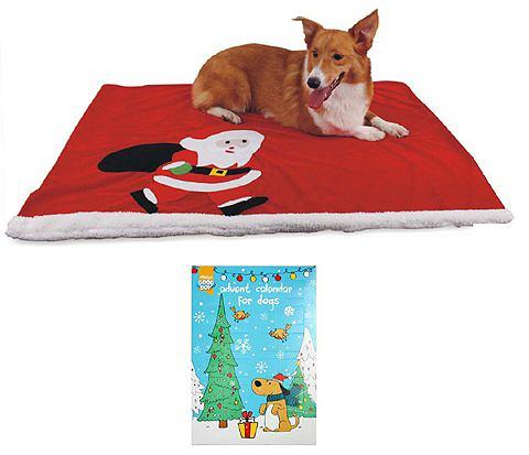 Плед для собаки »Weihnachts -Set...