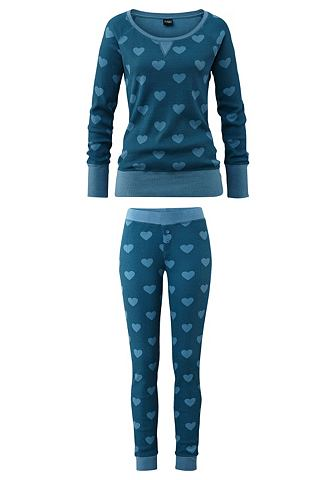 Модный пижама с рисунком