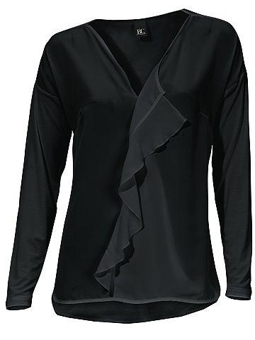Блузка-футболка с c воланами
