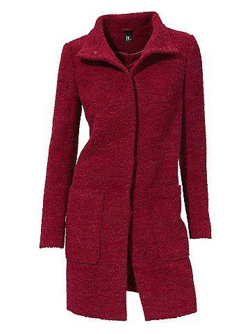 Пальто шерстяное в Bouclé-Optik...