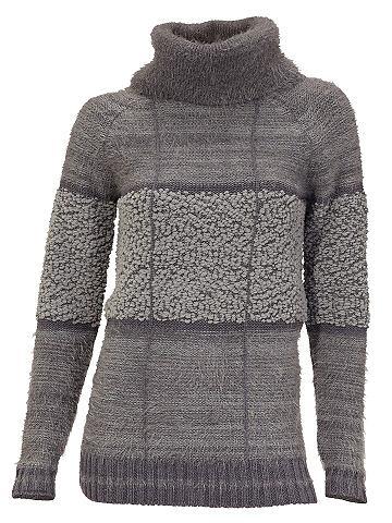 Пуловер с Effektgarn