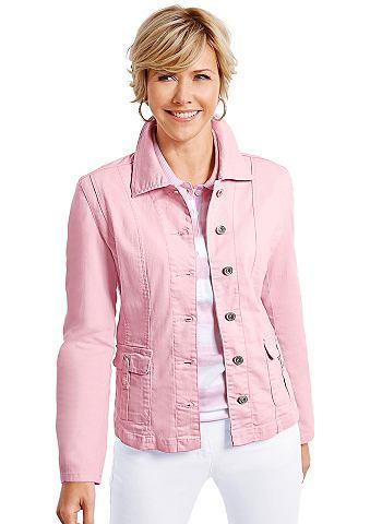Пиджак в имитация джинса